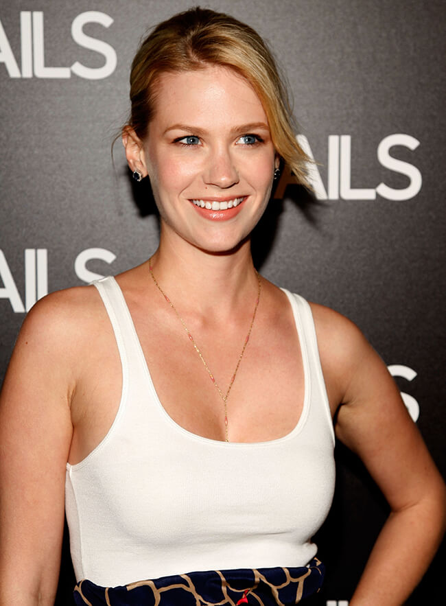 January Jones Bra Size