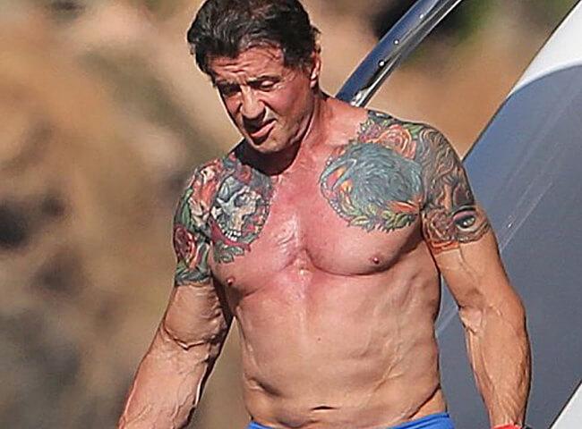 Sylvester Stallone Hot Pics
